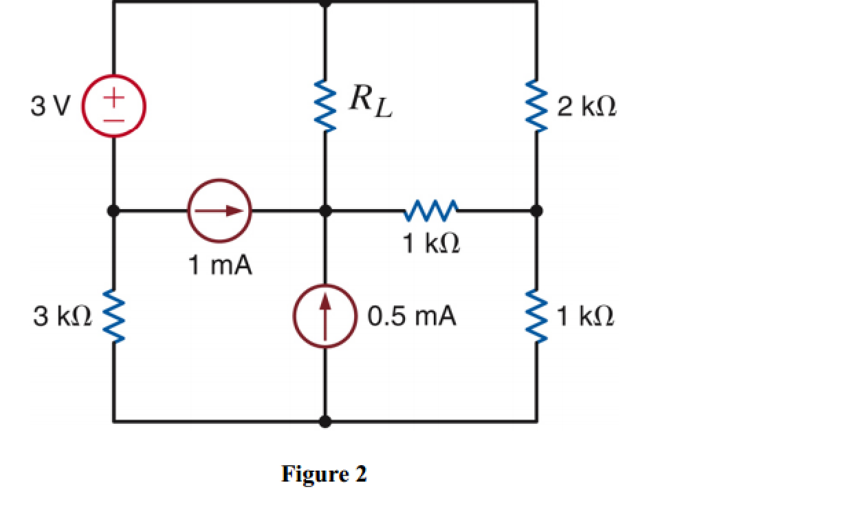 Solved For The Circuit In Figure 2 Find Rl Maximum P Pocer Transper Best Answer