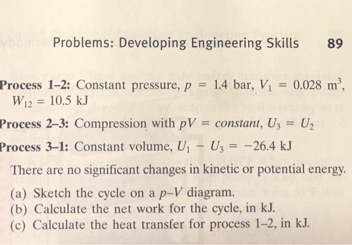 Problems  Developing Engineering Skills 89 Process