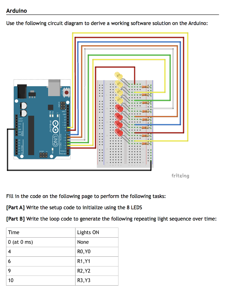 Groovy Solved Arduino Use The Following Circuit Diagram To Deriv Wiring Cloud Rectuggs Outletorg