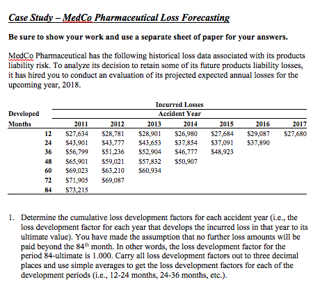 Accounting archive december 05 2017 chegg case stu pharmaceutical loss forecastin be sure to show your work and use a separate sheet fandeluxe Images