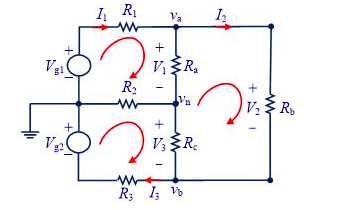 Solved A Dc Power Three Wire Distribution Circuit Is Show
