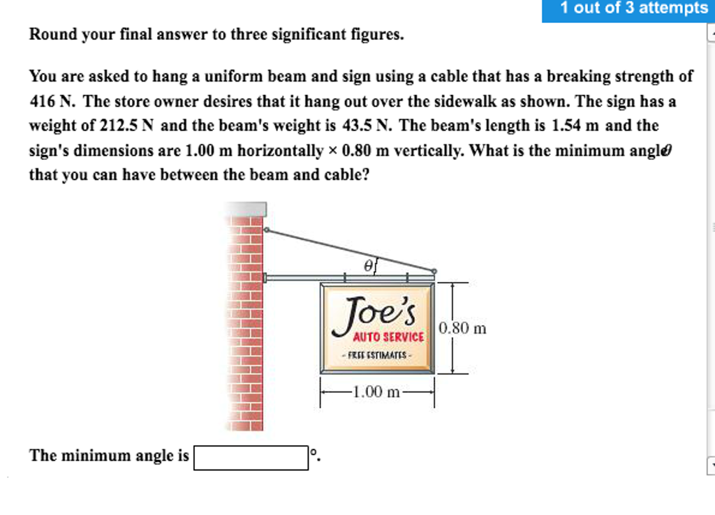 Physics archive october 19 2016 chegg round your final answer to three significant figur fandeluxe Choice Image