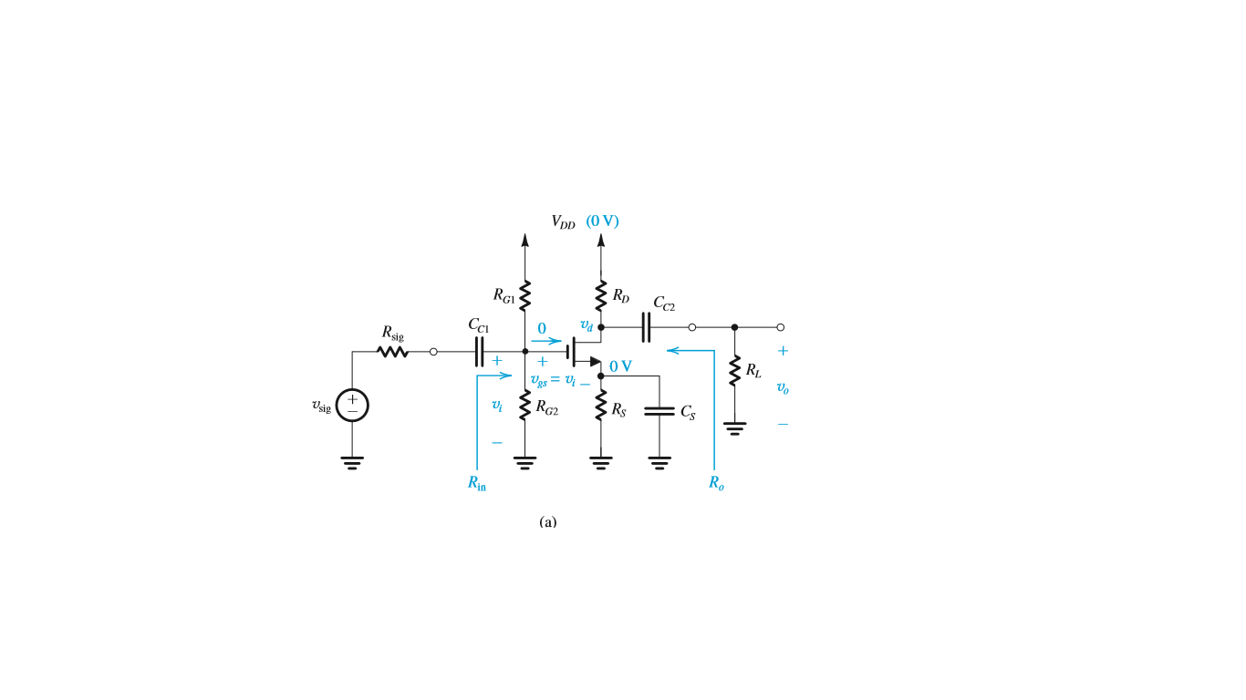 Design The Bias Circuit In Fig755b For Cs Mosfet T