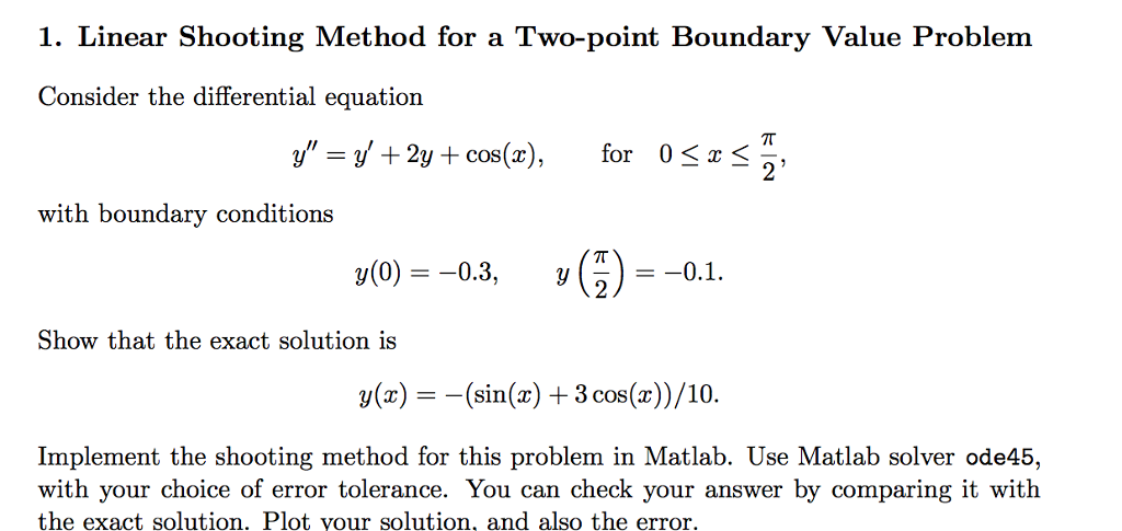 Solved: Consider The Differential Equation Y
