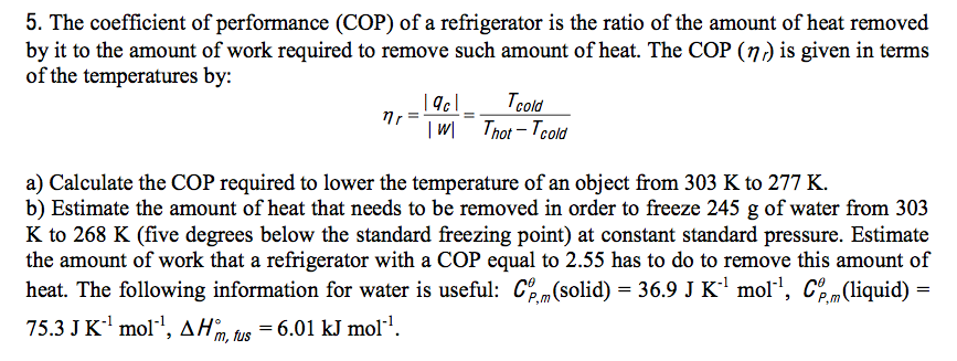 how to calculate work with heat