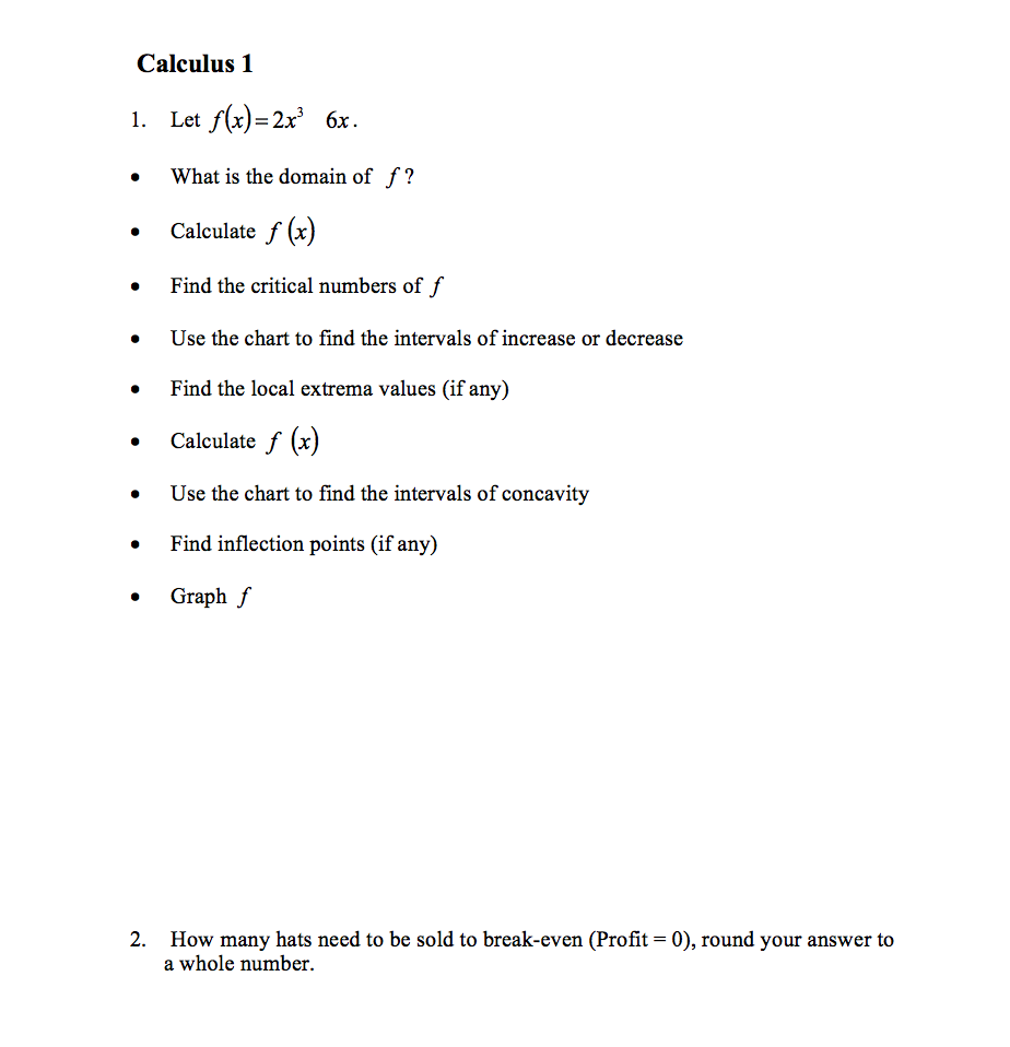How Toplete The Square On Mathway By Kate Alexander Calculus 1 1 Let F(x
