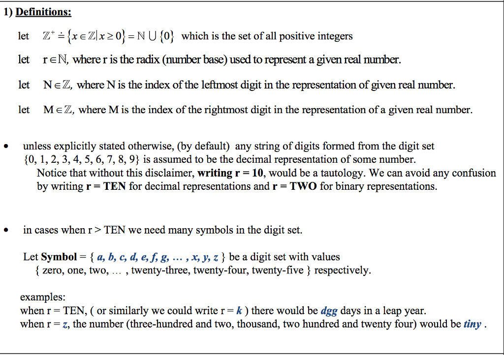 Solved 1 Definitions Let Txezix20 Nu0 Which Is The Se