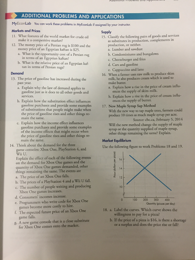 Solved economics 12th edition 9780133872279 by michael additional problems and applications myeconlab you can work these problems in myeconlab if assigned by your economics 12th edition 9780133872279 fandeluxe Choice Image