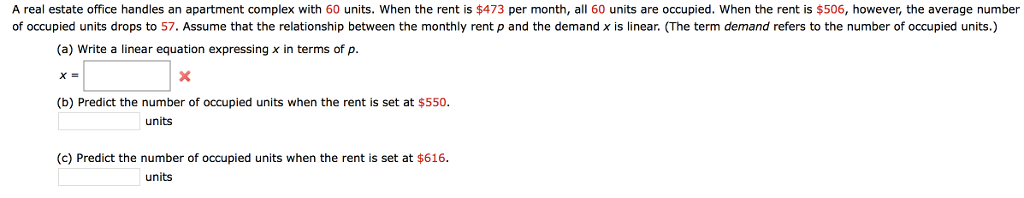 Delightful A Real Estate Office Handles An Apartment Complex With 60 Units. When The  Rent Is