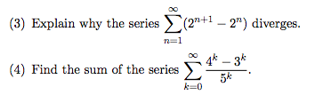how to find the sum of a series with factorials