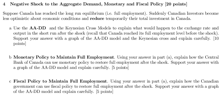 Economics archive february 27 2017 chegg 4 negative shock to the aggregate demand monetary and fiscal policy 20 points suppose canada fandeluxe Gallery