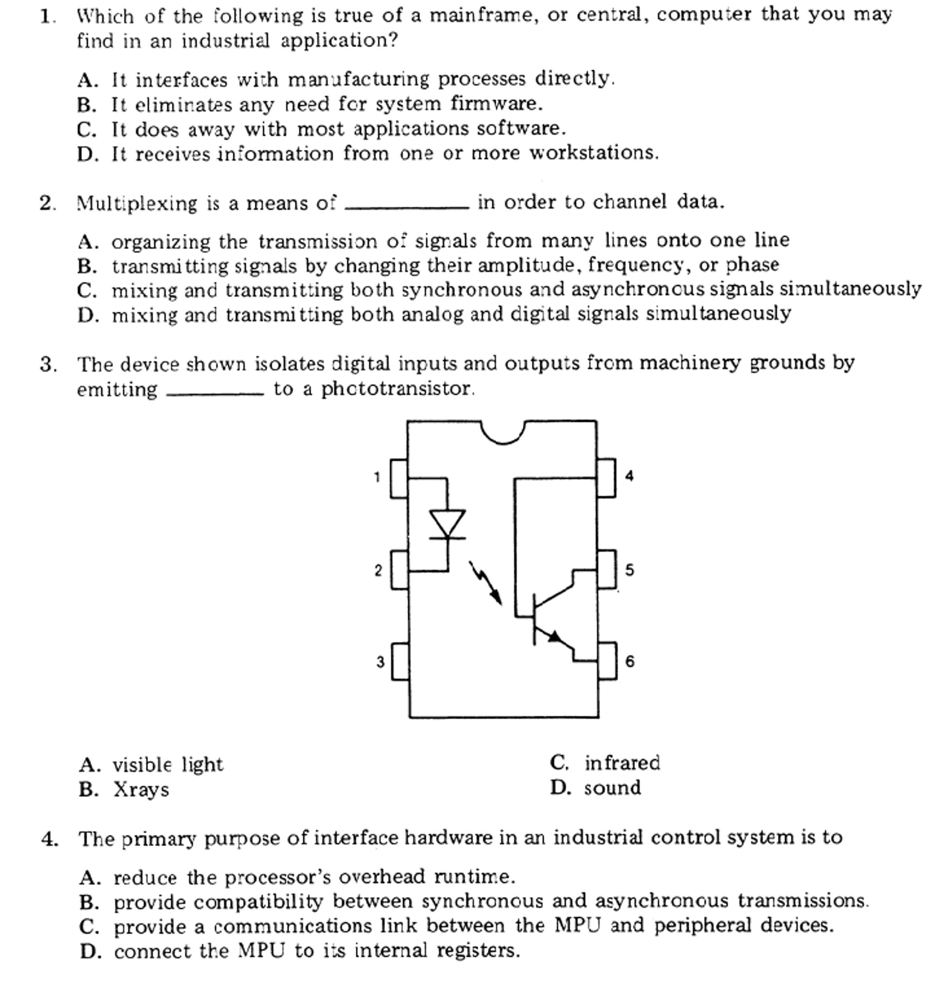 Solved: Which Of The Following Is True Of A Mainframe, Or