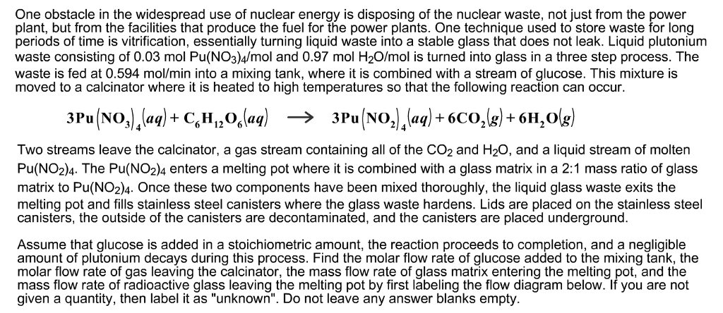 Solved: One Obstacle In The Widespread Use Of Nuclear Ener ...