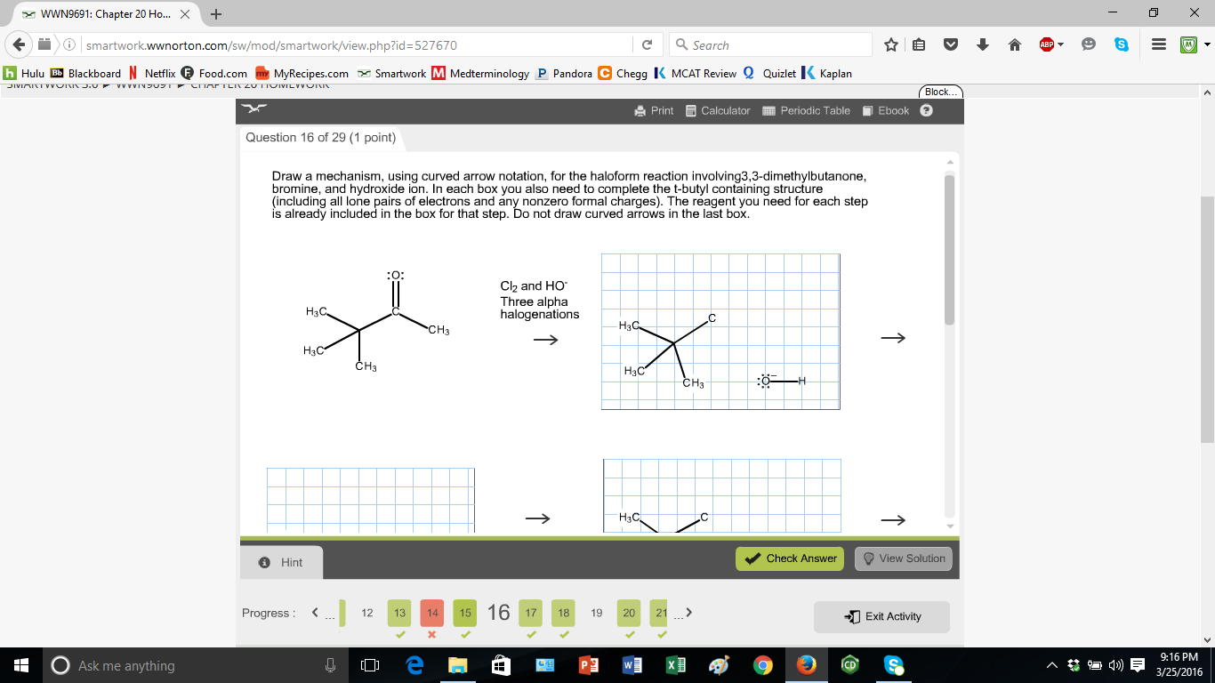 Chemistry Archive | March 25, 2016 | Chegg.com