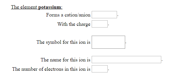 Solved The Element Sulfur Forms A Cationanion Cation Wit