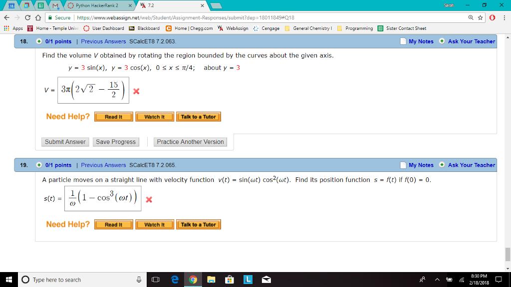 Solved: × Y Yi 7 2 Python HackerRank 2 ! Https://www webas