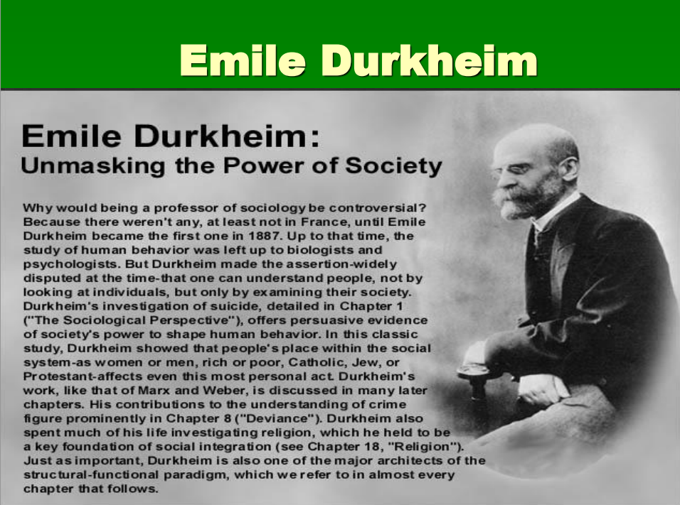 an essay on durkheim and his arguments David emil durkheim is a renowned sociologist and also france's first professor of sociology born on 15th, april in france, he successfully advocated for sociology to be recognized as an academic discipline he did his first recognizable work titled 'the division of labor in society' in 1893.