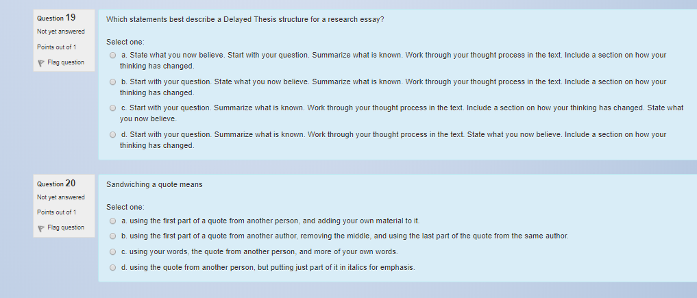how to start thesis work
