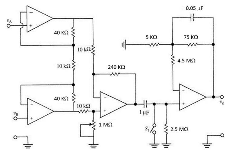 Enjoyable Ecg Circuit Basic Electronics Wiring Diagram Wiring Digital Resources Funapmognl