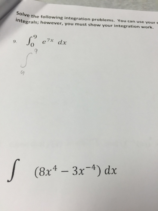 how to solve integration problems easily