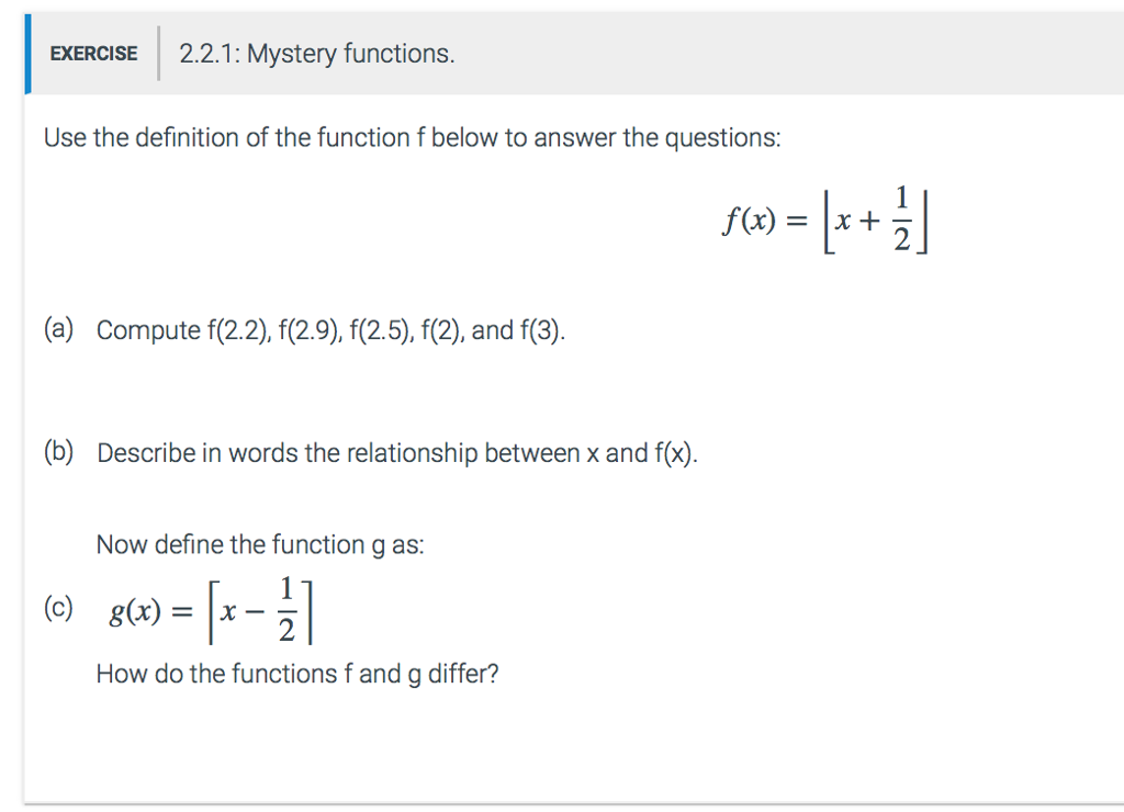 """Solved: NOTE: THIS IS CHAPTER 2 - FUNCTIONS- IN """"DISCRETE ...   Chegg.com"""