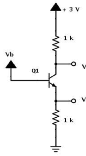 solved   in the image  voltages should be labeled vc and v
