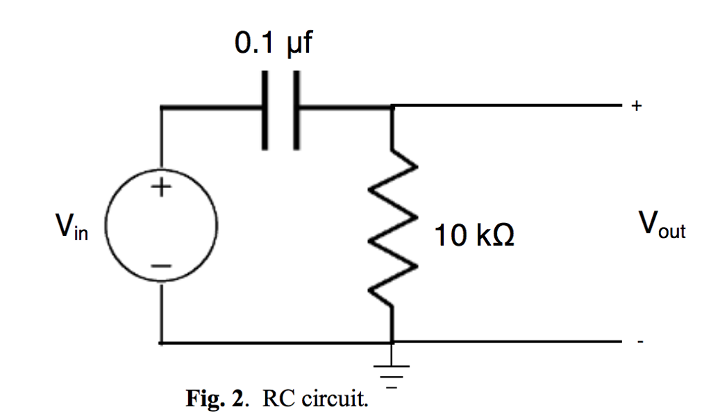 solved calculate the rc time constant of the circuit in f time constant units r c time constant circuit diagram #14