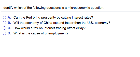 Solved: Identify Which Of The Following Questions Is A Mic