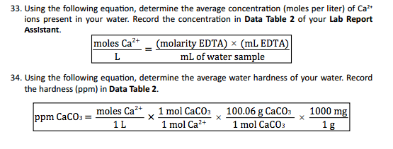 how to calculate total hardness of water