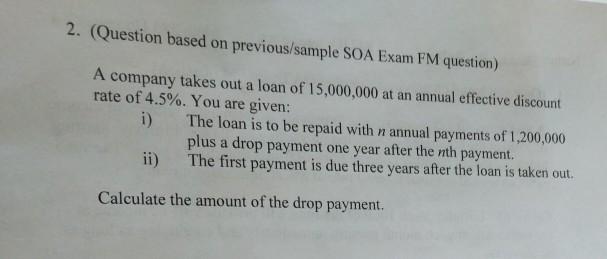 Exam fm questioons | bonds (finance) | present value.