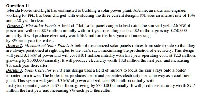Florida Power And Light Has Committed To Building