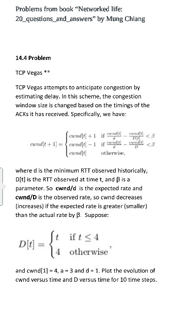 TCP Vegas Attempts To Anticipate Congestion By Est
