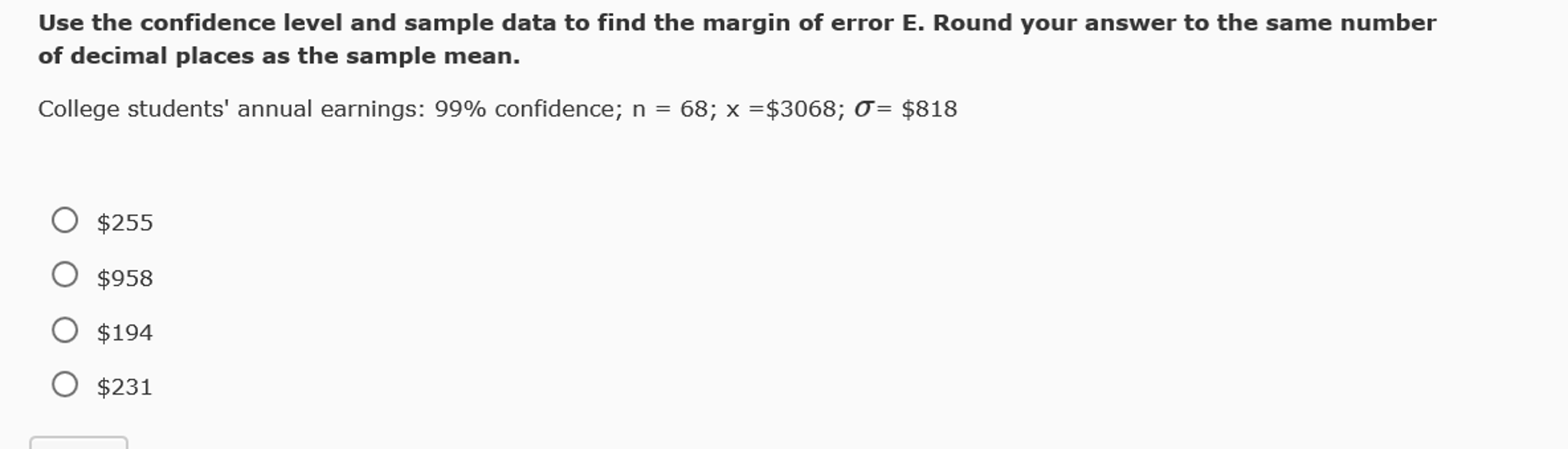 Statistics And Probability Archive   November 01, 2016   Chegg.com