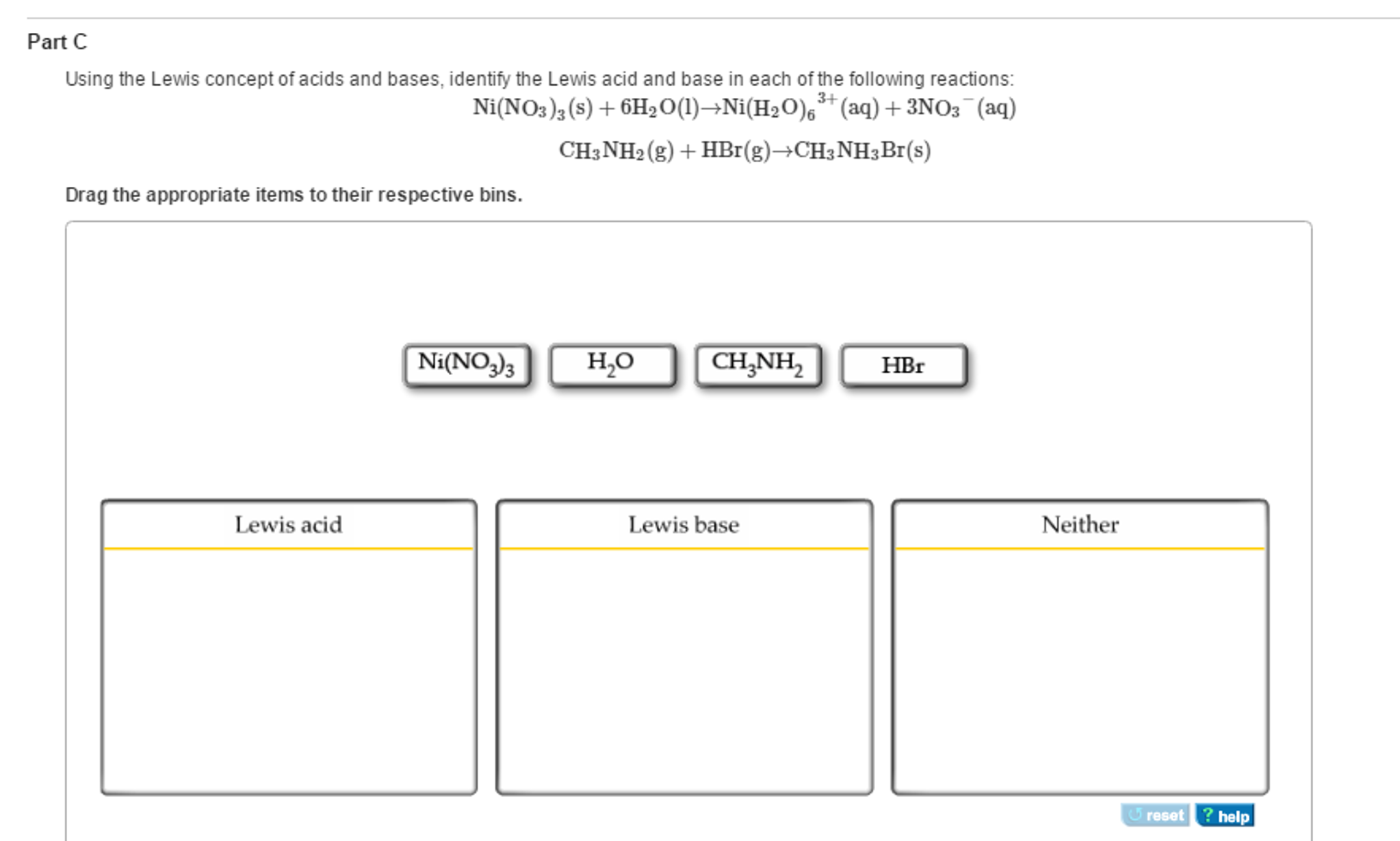 Solved: Using The Lewis Concept Of Acids And Bases, Identi ...