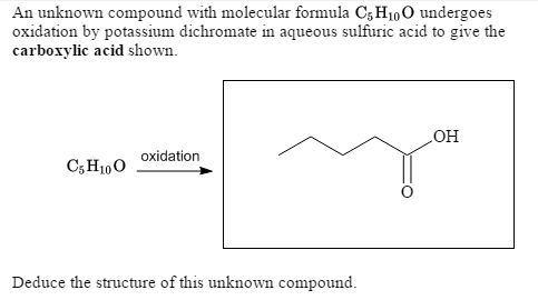 identify an unknown carbonyl compound (40%), 112 (100%), 114 (33%), and essentially no other peaks identify the compound acetophenone is the answer because the carbonyl peak not the unknown).