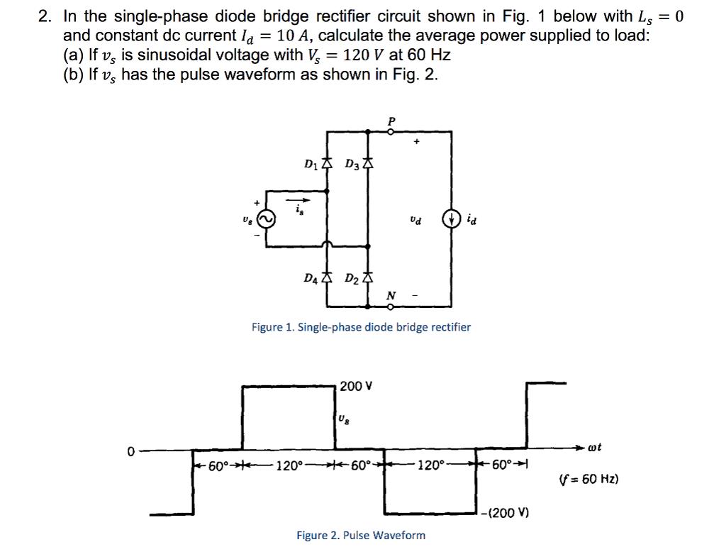 Bridge rectifier hookup