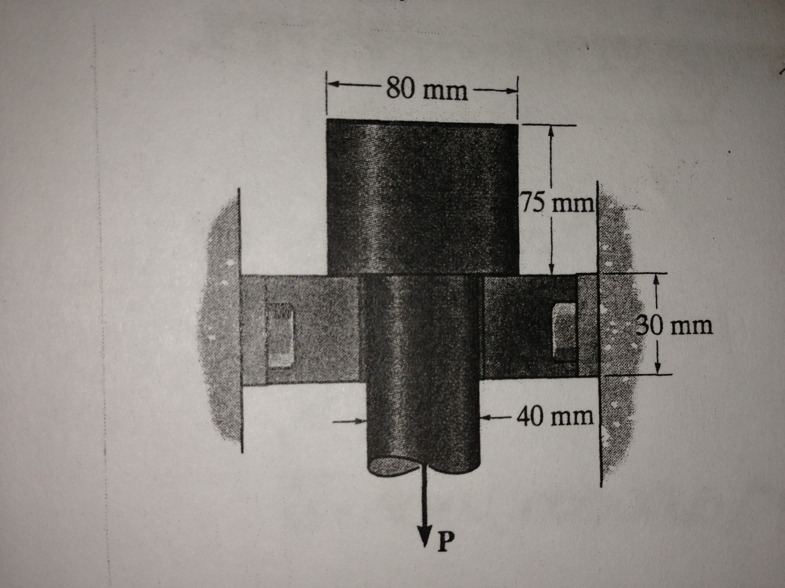 The Bolt Head And The Supporting Bracket Are Made       Chegg com