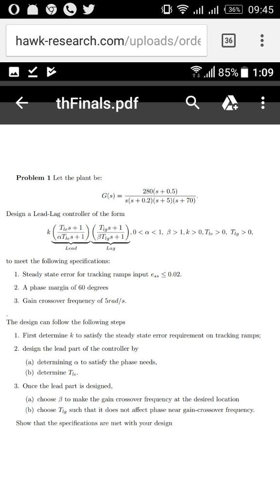 FORM 280 IN PDF