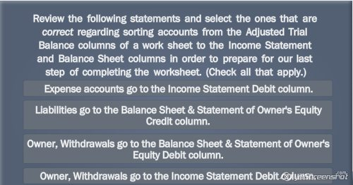 Solved: Review The Following Statements And Select The One ...