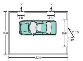 Solved wind blows through a 7 x 10 ft garage door with a for 17 foot wide garage door