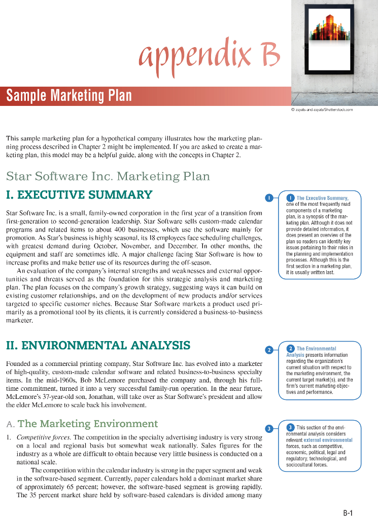 brief executive summary example