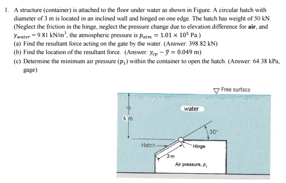 Atmospheric pressure test questions