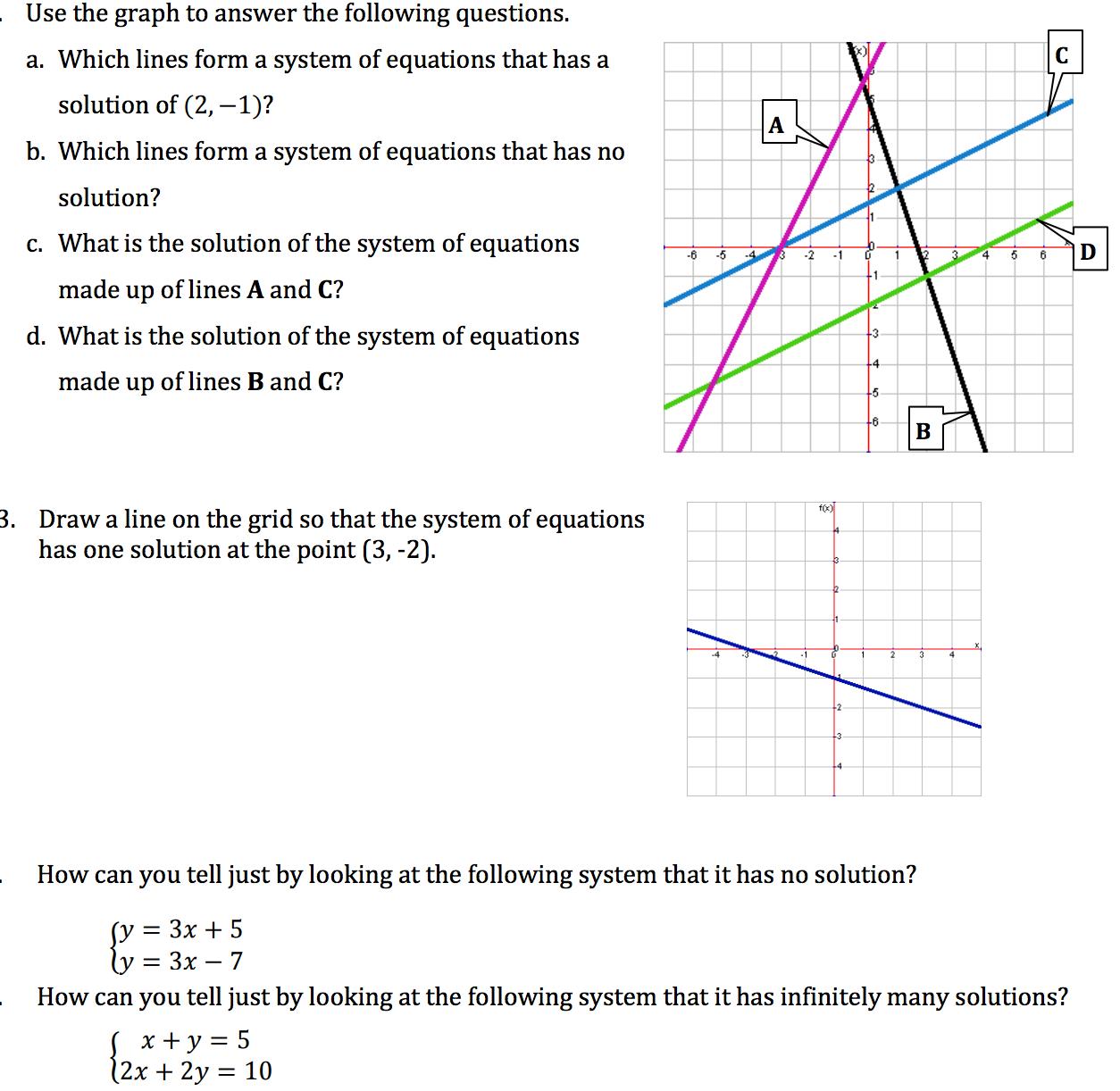 Solving Systems of Equations Using Algebra Calculator