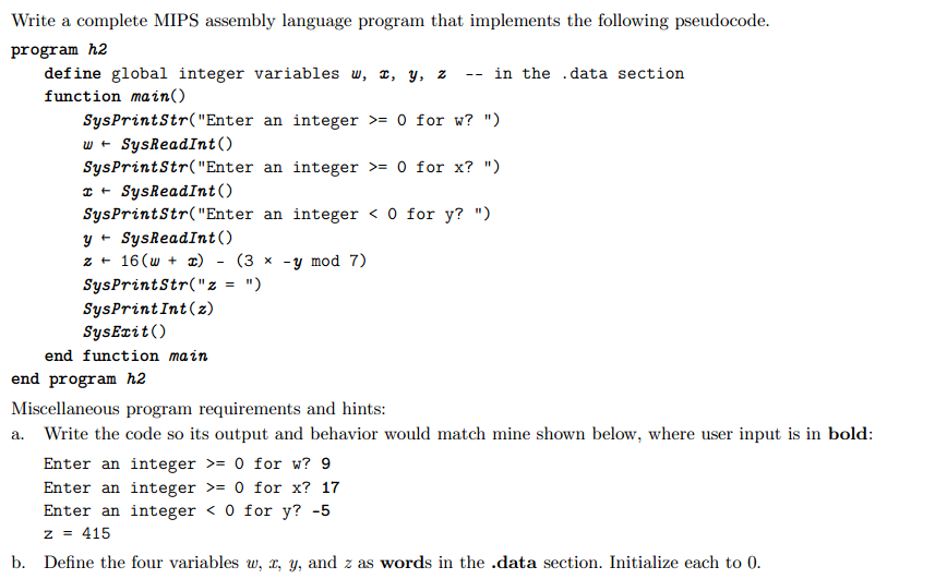 Assembly Language Examples and Tutorials