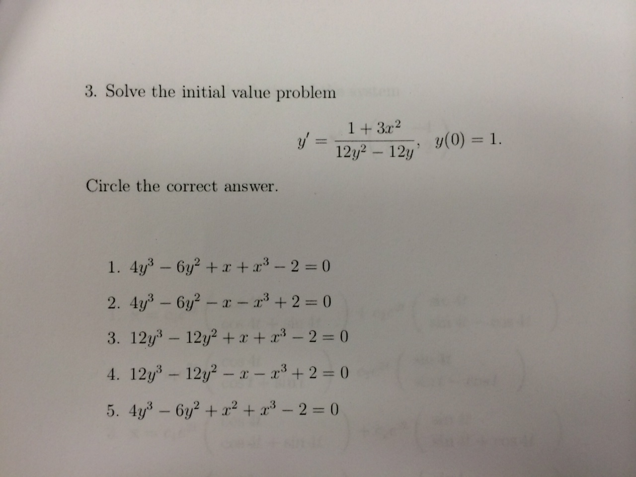 Net present value and correct answer