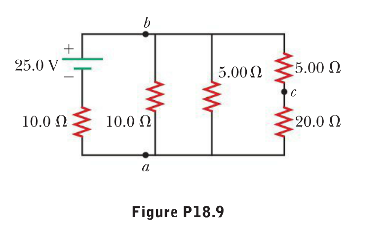 solved  consider the circuit shown in figure p18 9  find