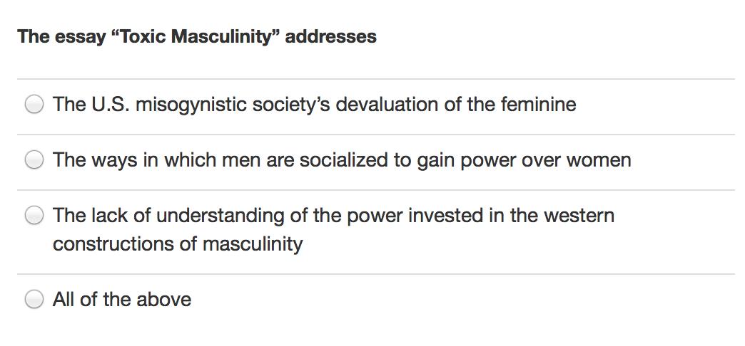 Masculinity advertising essays