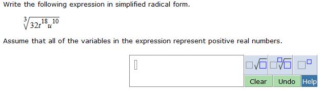 simplify radical expressions calculator