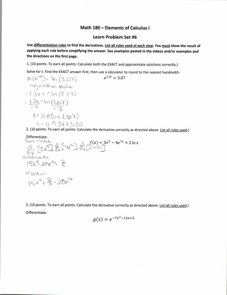 uic calc 180 homework