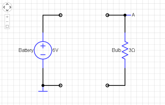 solved you have a 6 volt battery (assumed ideal) and a 1 6 Volt Relay Circuit you have a 6 volt battery (assumed ideal) and a 1 schematic